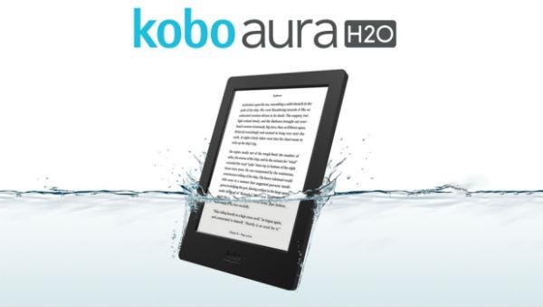 Kobo Aura H2O, un libro electrónico todoterreno para la playa