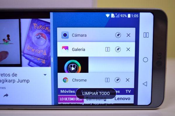 LG G6 multitarea