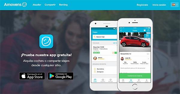 Las mejores aplicaciones para viajar en auto compartido