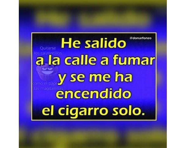meme fumar