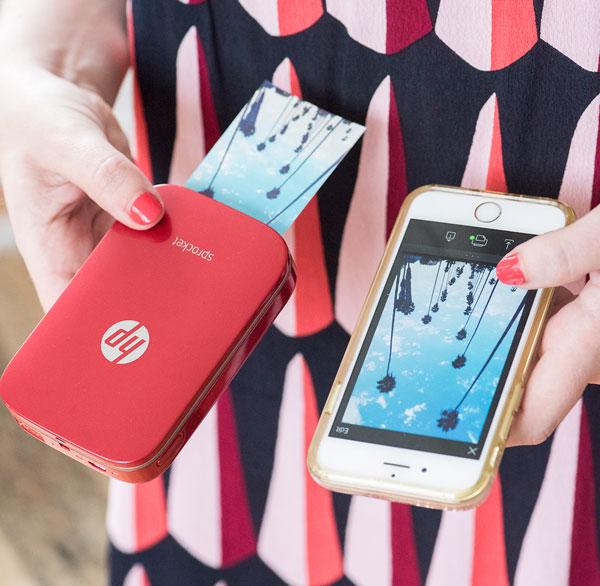 HP Sprocket, la impresora de bolsillo para tus fotografías del verano