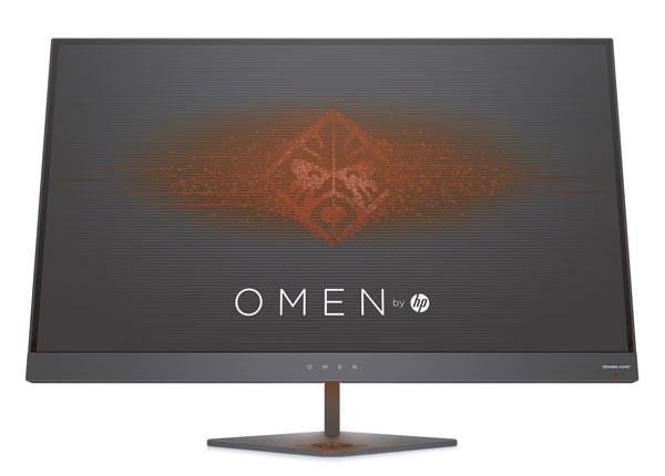HP OMEN 25 y OMEN 27, monitores adaptados a los games más potentes