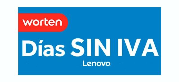 Las mejores ofertas de los Días Sin IVA de Lenovo en Worten