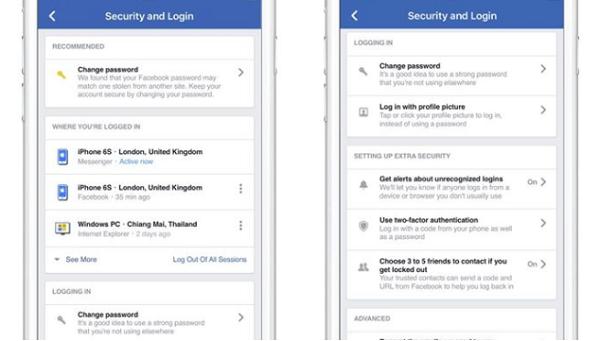 Las noticias en seguridad de Facebook