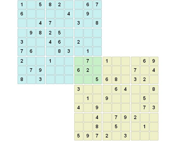 sudoku doble