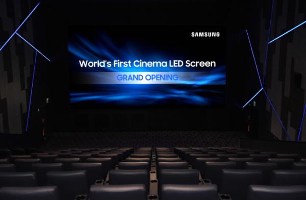 Samsung estrena el 1er cine con pantalla Oled gigante