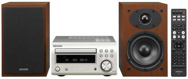 Denon D-M41, microcadena de cualidad con Bluetooth, radio y CD