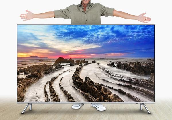 El tamaño importa, Samsung explica por cuán triunfan las teles grandes