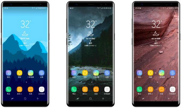 El Samsung℗ Galaxy℗ Note 8 llegaría en cuatro versiones diferentes