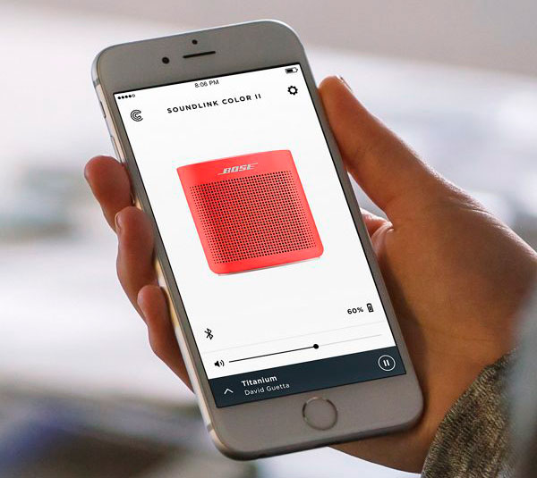 a fondo Bose SoundLink Color II app