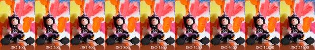 hemos probado Canon℗ EOS 200D comparacion ISOS