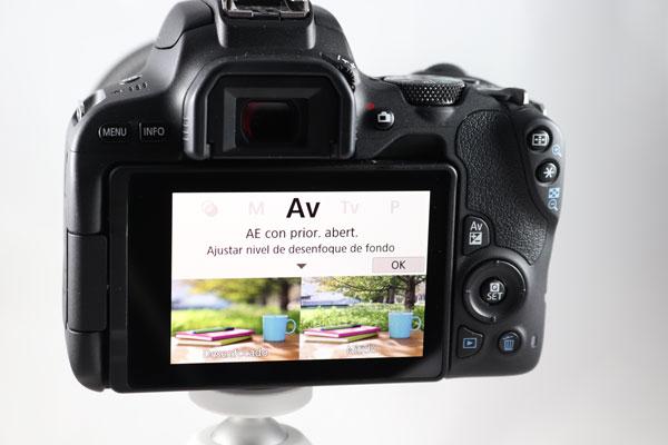 hemos probado Canon EOS 200D pantalla