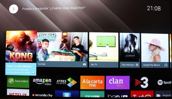 prueba Sony A1 OLED sistema operativo