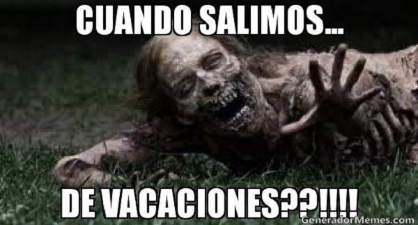 meme vacaciones