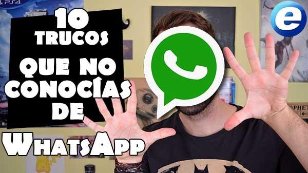 10 trucos sorprendentes de WhatsApp