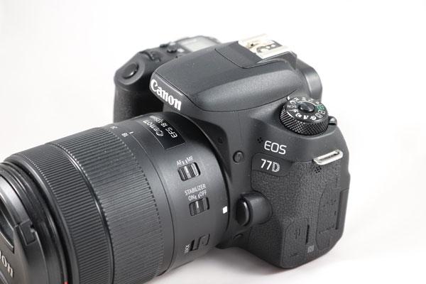 prueba Canon℗ EOS 77D modelo