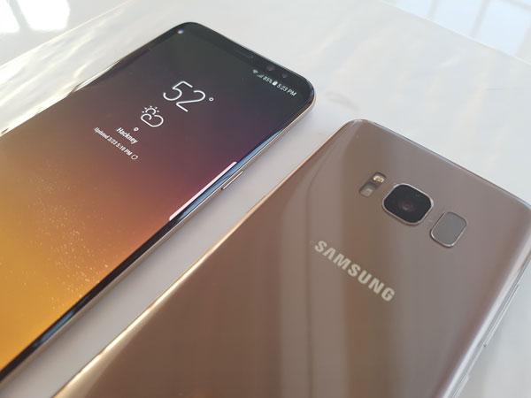 El Samsung Galaxy S8 y S8+ reciben una actualización de seguridad