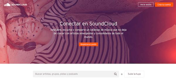 soundcloud plataforma música