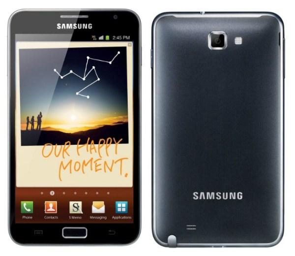 samsung galaxy note 1 evolución de los terminales de Samsung Galaxy Note
