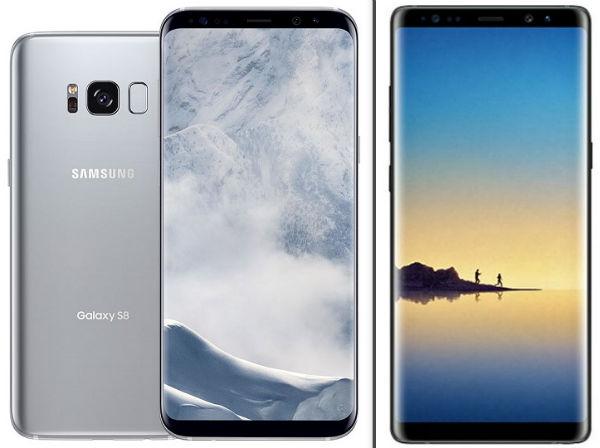 5 diferencias esperadas entre Samsung Galaxy S8+ y Galaxy Note 8