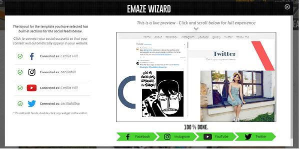 Cómo exportar tu página de Fb a una web