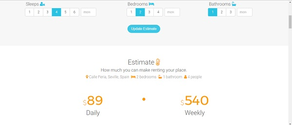 calculadora airbnb