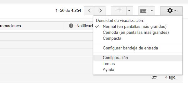 gmail contestación automática