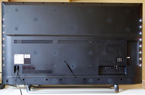 hemos demostrado Philips 55PUS6262 trasera