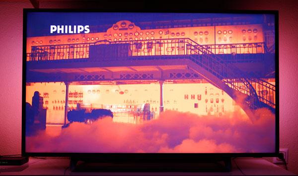 hemos demostrado Philips 55PUS6262 sonido