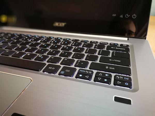 Acer Swift tres teclado