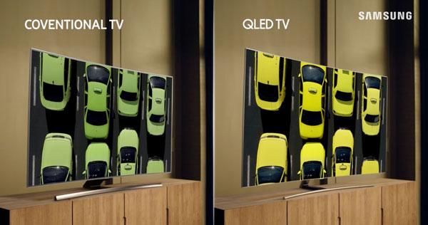 QLED vs OLED ángulo de visión
