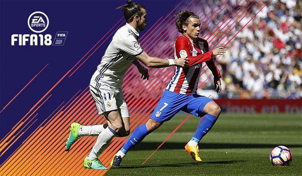 FIFA 18 - Gareth Bale y Griezmann