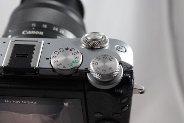 hemos demostrado Canon EOS M6 controles