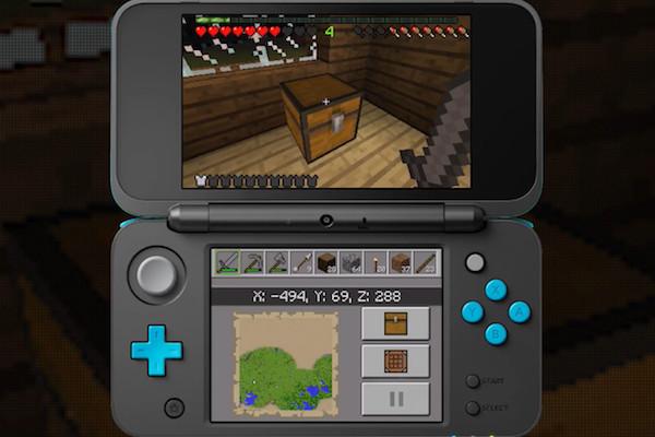 Minecraft ya se puede jugar en las Nintendo 3DS