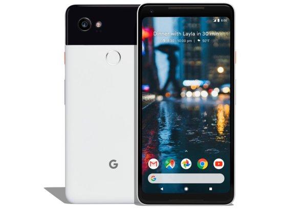 Google Pixel 02 XL diseño
