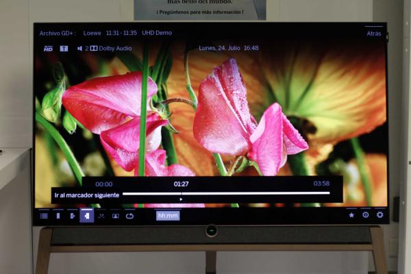 Loewe Bild 5.55 OLED 4K UHD HDR, lo hemos probado