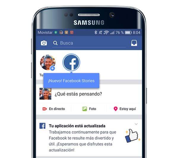 facebook stories lite