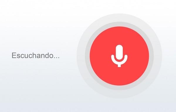 google now voz