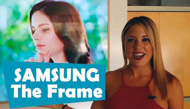 Así es The Frame, el televisor de Samsung℗ que parece un cuadro