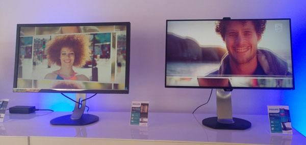 nuevos monitores de Philips℗ y AOC℗ monitores curvos