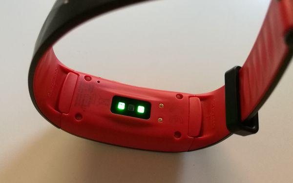 samsung gear fit2 pro frecuencia cardiaca