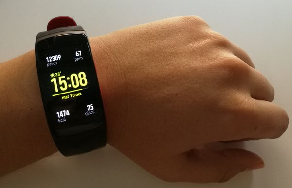 Samsung Gear Fit2 Pro, la hemos probado