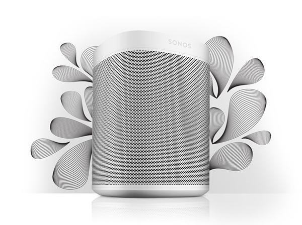 Sonos One, altífono con función táctil resistente a la humedad