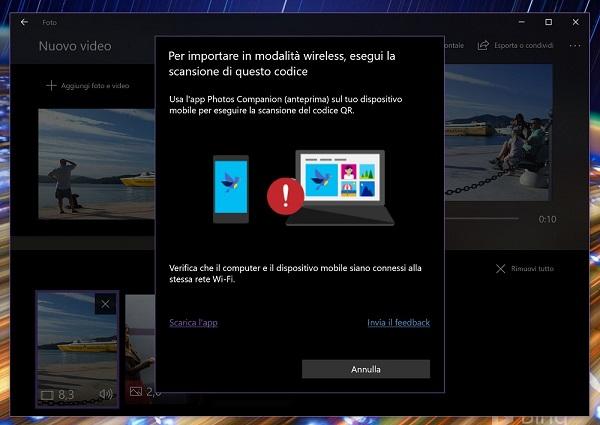 Microsoft prepara una aplicación para pasar fotografías directamente al PC por WiFi