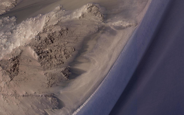 NASA ríos de Marte podrían ser polvo