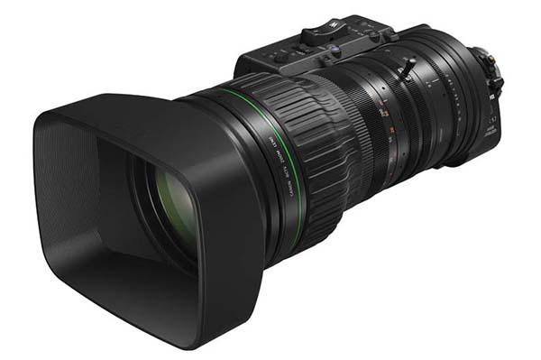 """Canon ENG 4K de 2/3"""", 02 nuevos objetivos para retransmisiones 4K"""