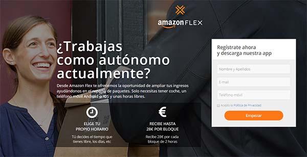 Amazon Flex, requerimientos y condiciones para ser repartidor de Amazon
