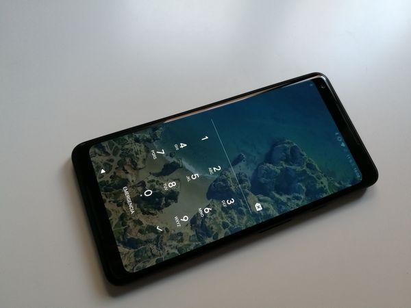 google pixel 2 xl diseño