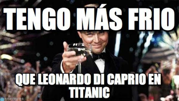 Titanic frío