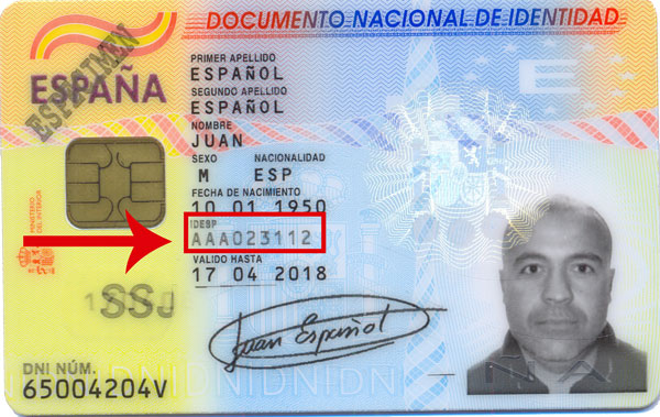 cancelación certificados dactilares dnie número de serie